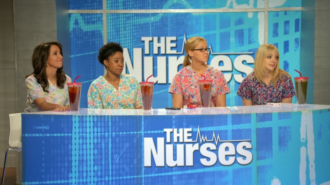 Inside Amy Schumer, the Nurses