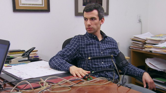 Episode 1, Season 2 - Nathan takes a polygraph